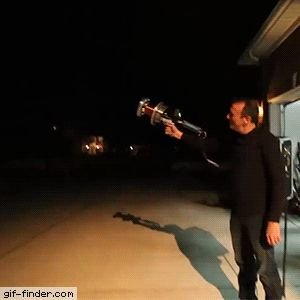 Handheld Tesla Coil Gun | Gif Finder – Find and Share funny animated gifs