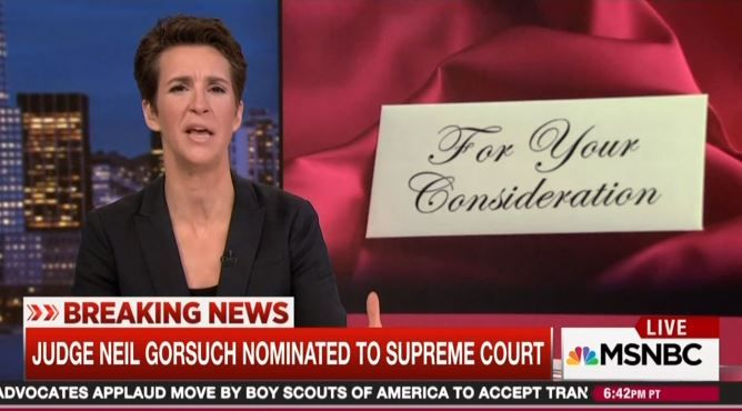 Meltdown: Leftist Nutjob Maddow Is Bitter 'Non-Controversial' Garland Won't Be on Court Due to 'Radical' GOP.  She needs to get used to knowing what losing means!