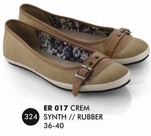 Sepatu Flat Wanita Casual Trendy [ER 017] (Brand Everflow) Free Ongkir