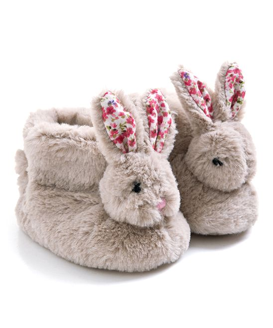 Rabbit Slippers - Infant & Toddler