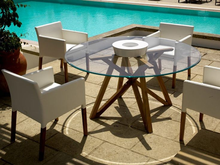 25 best ideas about table ronde on pinterest table ronde design table ronde cuisine and - Table jardin unopio colombes ...