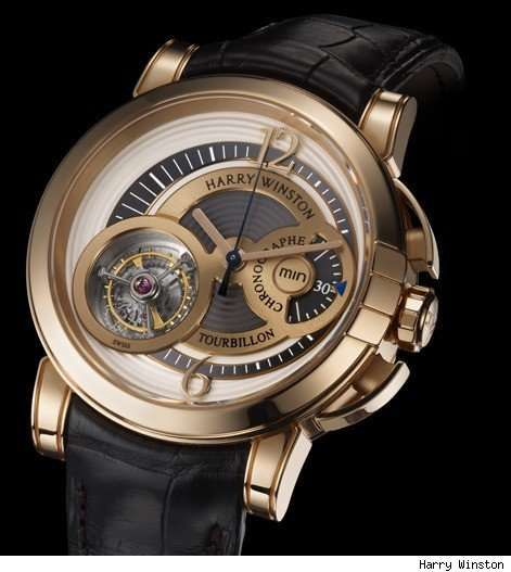 Tourbillon | ... Harry Winston Midnight Chrono Tourbillon Watch is Fit for a Gentleman