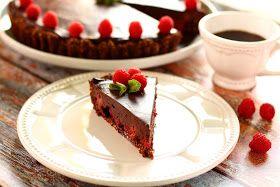 TücsökBogár konyhája: Málnás csokis pite (paleo)