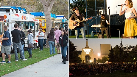 Street Food Cinema- Expo Park: Outdoor Flicks, Food Trucks, Music and More