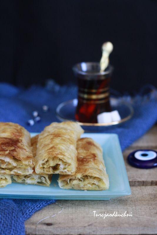 Turcja od kuchni: Börek z ciasta filo z ziemniakami