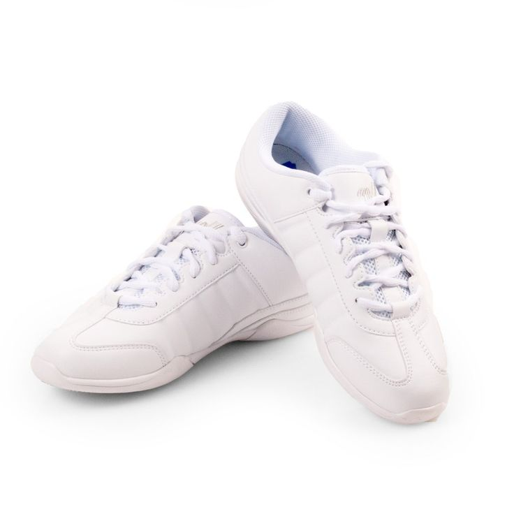 The versatile and lightweight Varsity Cheerleader II features a reinforced sole to take you through every season in comfort, style and support. Features shock-absorbing padding, arch support, and heel cup for stability and comfort. The synthetic leather upper is durable and cleans easily. The lightweight EVA and phylon rubber sole has reinforced adhesives and is coated with Varsity