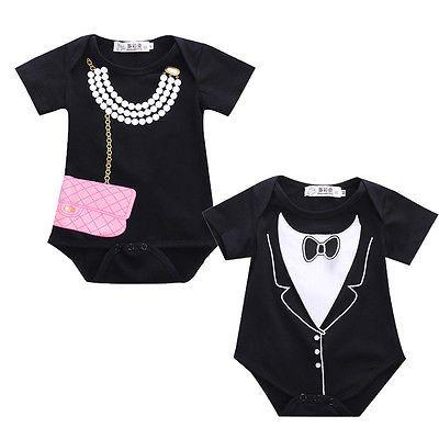 >> Click to Buy << 2016 New Infant Newborn Baby Girl Boy Tuxedo Romper Jumpsuit Gentleman Clothes #Affiliate