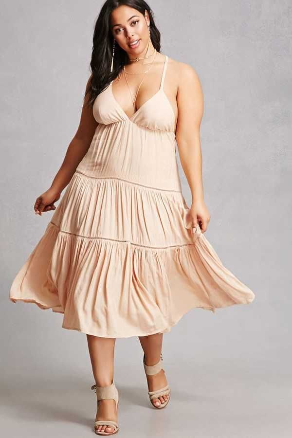 Plus Size Cami Dress