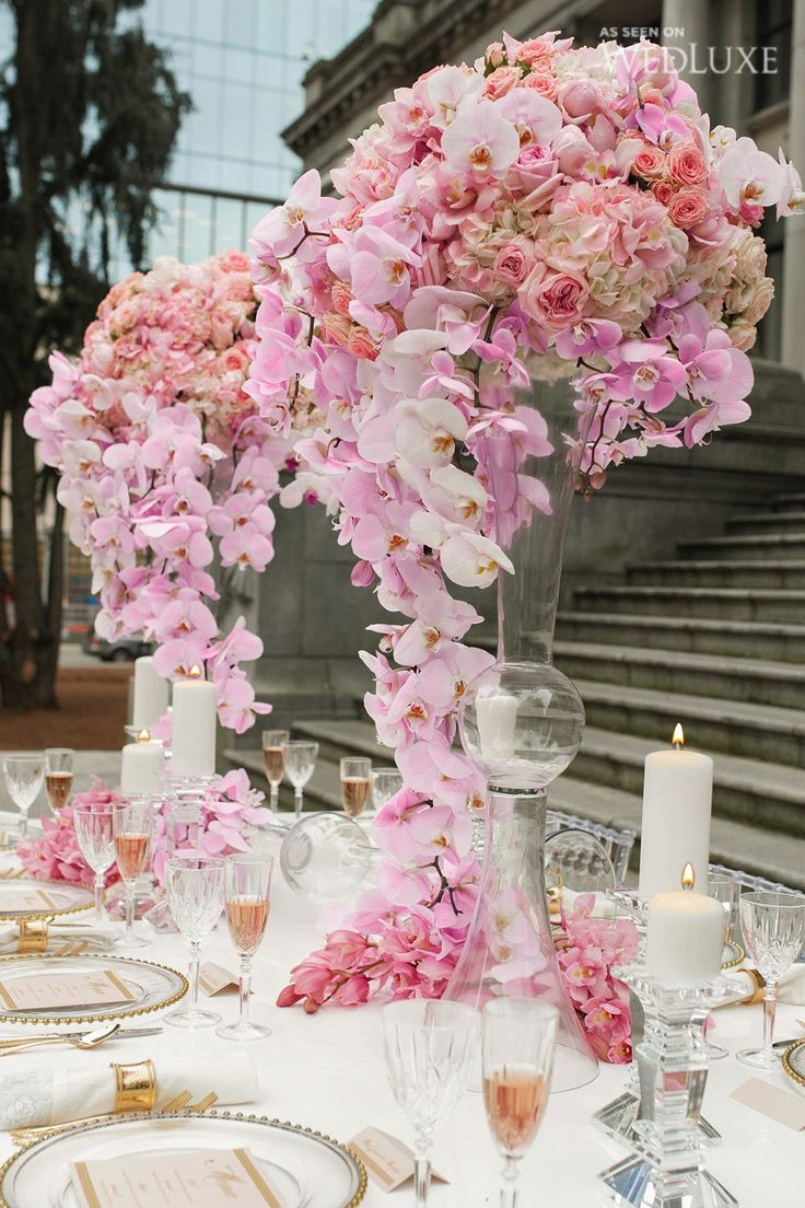 my pink valentine this valentines day themed shoot is pretty in pink: day orchid decor