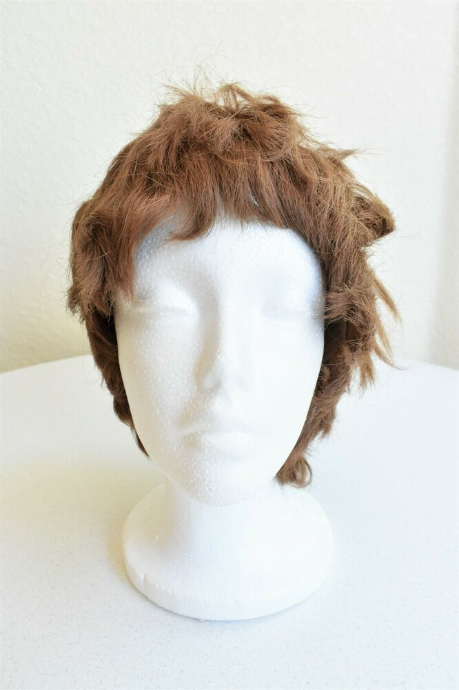 Vintage 1990 S Wig Short Brown Straight Hair Halloween Costume Synthetic Unbranded In 2020 Straight Hairstyles Brown Straight Hair Wigs