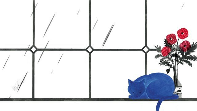 Picture Book'The Blue Cat' / by Heo Jiyoung / Published by Logpress / Animated by NEKKO-BUS(by kim jisu)