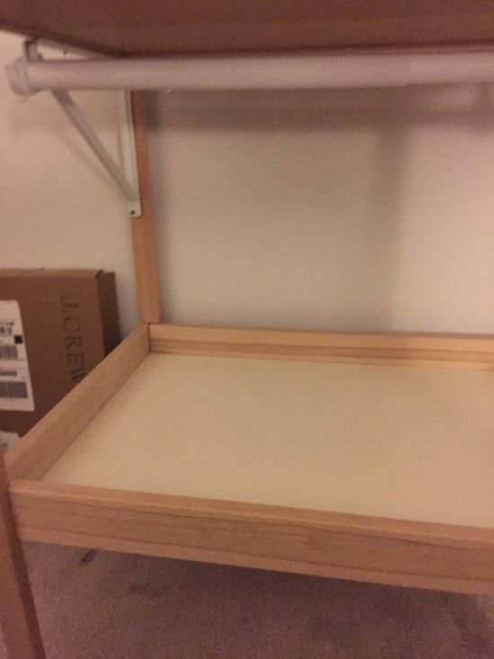 Ikea Toddler Bed Fitted Sheet ~ Ikea sniglar changing table converts to a toddler's mini closet  Ikea