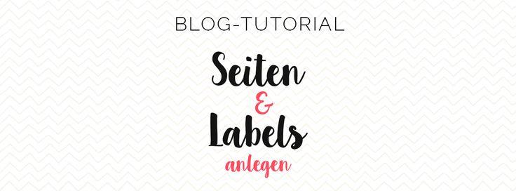 Misses Cherry: Seiten und Labels anlegen in Blogger