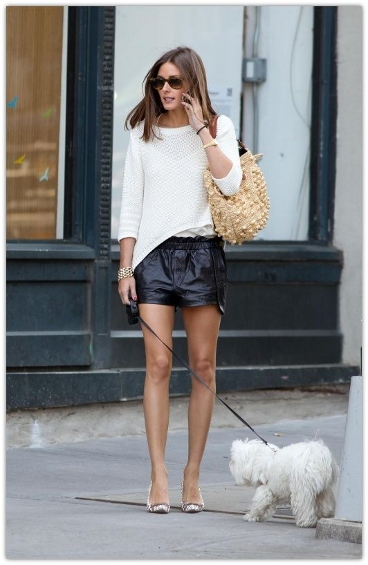 Art Symphony: TREND : Leather Shorts