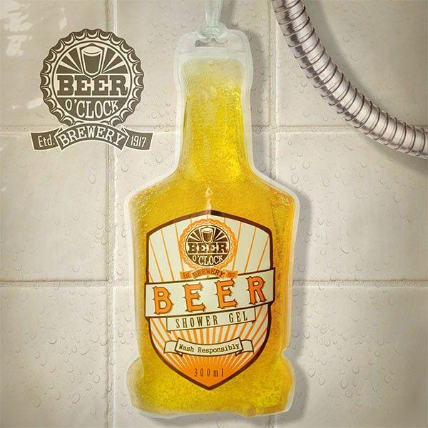 Piwny żel pod prysznic / Beer shower gel