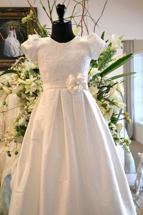 First Communion Dress I LOVE LOVE LOVE THIS!