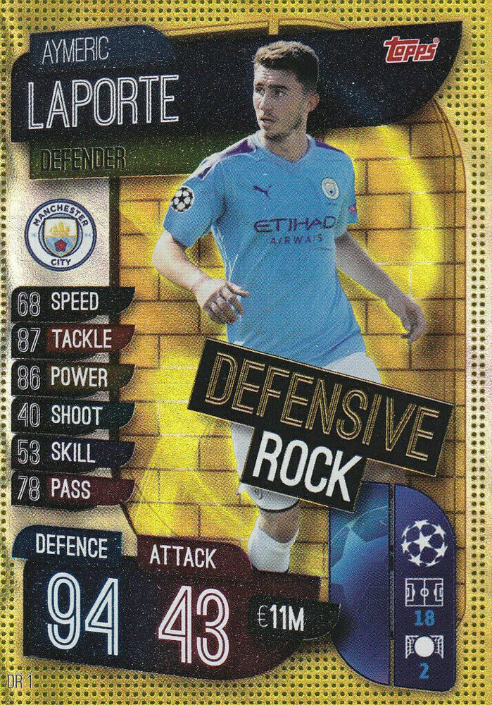 2019/2020 TOPPS MATCH ATTAX EXTRA CL Aymeric Laporte