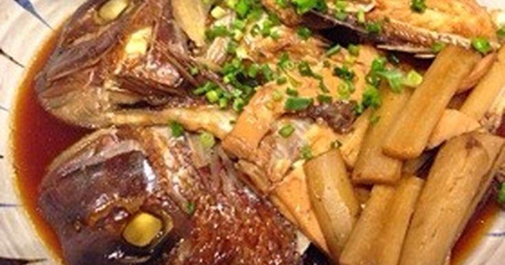 我が家の黄金比率!鯛のあら煮 by コノリガタ [クックパッド] 簡単おいしいみんなのレシピが273万品