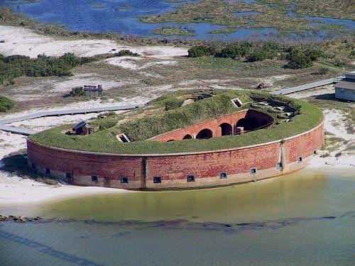 Fort Massachusetts, Ship Island, Biloxi,Mississippi
