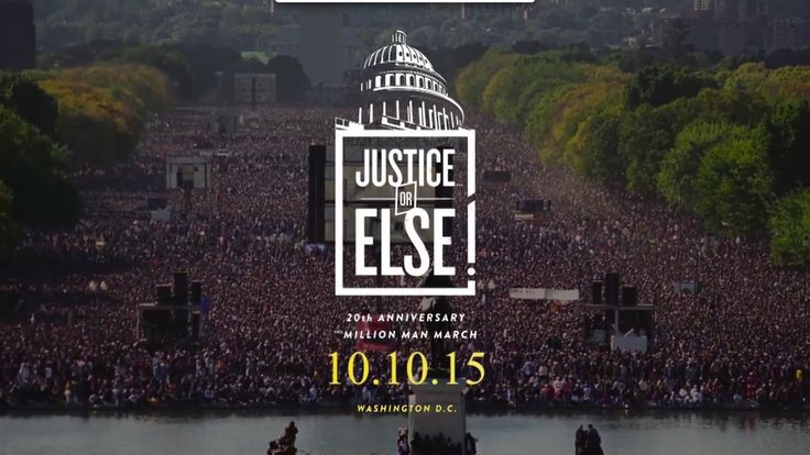 Justice Or Else ! - Farrakhan on Million Man March 2015 Anniversary