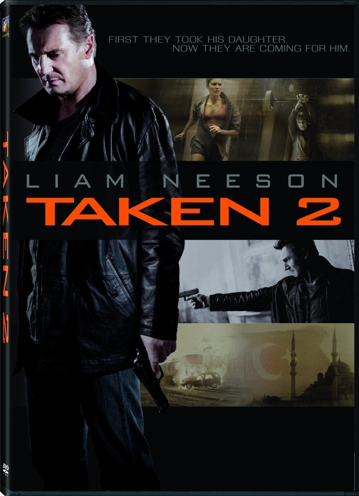 The first one was so good, I wasn't sure about Taken 2...  But I LOVED it!
