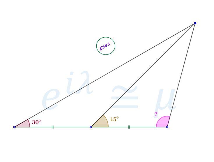 Angle in a Triangle #mathematics #satexam #actexam #