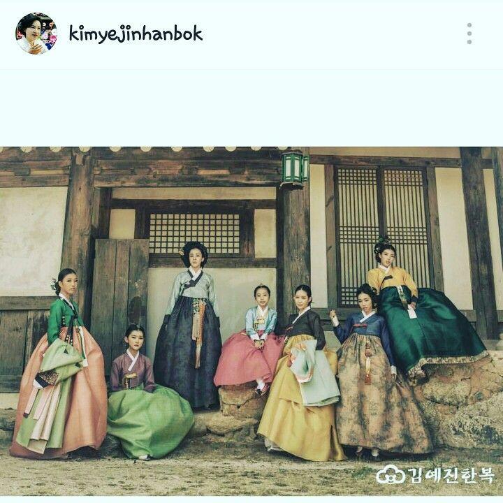 Korean Hanbok costume