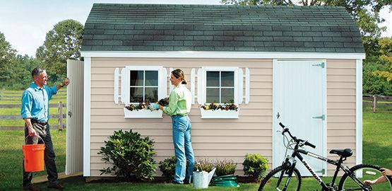 Need help building a shed? Shop for an outdoor storage building, shed or detached garage from Tuff Shed, Sheds USA and more. We'll install it for you!