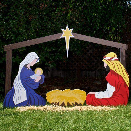 The 25+ best Outdoor nativity scene ideas on Pinterest | Outdoor ...