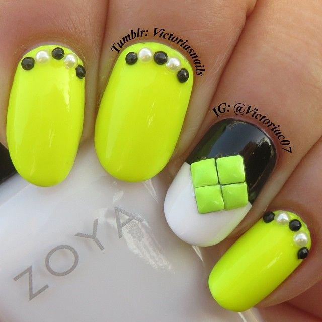 144 best Inspiration- Summer Nails images on Pinterest | Summer nail ...
