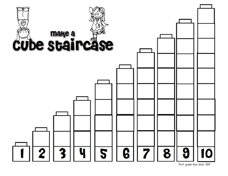 First Grade Blue Skies: Pete the Cat, Building a Staircase