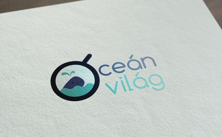 Az Óceán Világ nevű állatkerti ócenáriumnak készített logó