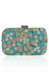 Peacock Green #shopnow #happyshopping #designer #accessories #Vian #clutch #peacockgreen #perniaspopupshop