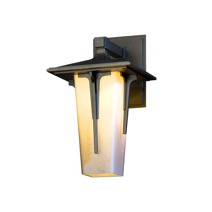 """Hubbardton Forge 13"""" Modern Prairie Outdoor Sconce in ... on Modern Outdoor Wall Sconce id=35132"""