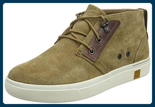 Timberland Damen Amherst_Amherst_Amherst Suede Chukka High-Top, Braun (Sepia Silk Suede), 39 EU - Sneakers für frauen (*Partner-Link)
