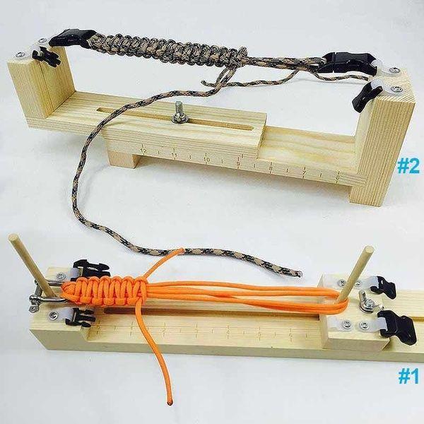 Jig Bracelet Bracelet Maker Wood Jig Bracelet Maker DIY Paracord Craft Tool Parachute Cord Wristband Making Tool