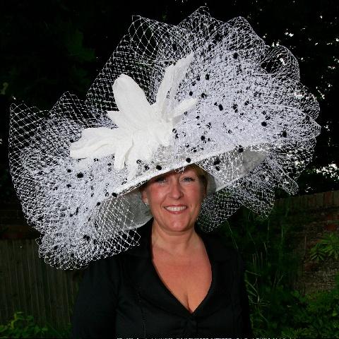 #Royal #Ascot #Hats  Royal Ascot.  Hat created by Eleda Hats, Leeds UK  www.eledahats.co.uk