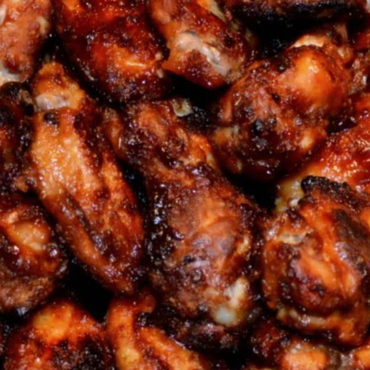 These wings are YUMMILICIOUS!!!   The sauce is awesomely good...  My dear sister shared this recipe with me a few years ago, been making them ever since. A sure crowd pleaser.  If you don't care for spice...they are still great without...Enjoy!