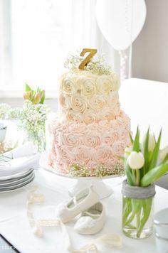 Birthday Ombre Cake