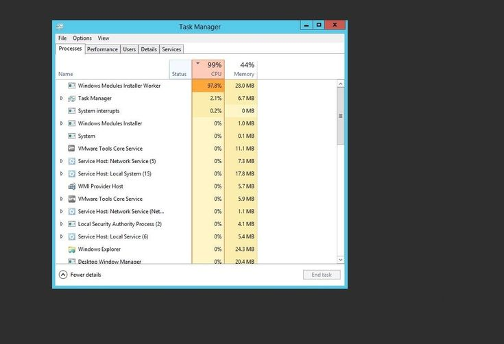 Windows Modules Installer Worker High Cpu Usage On Windows 10