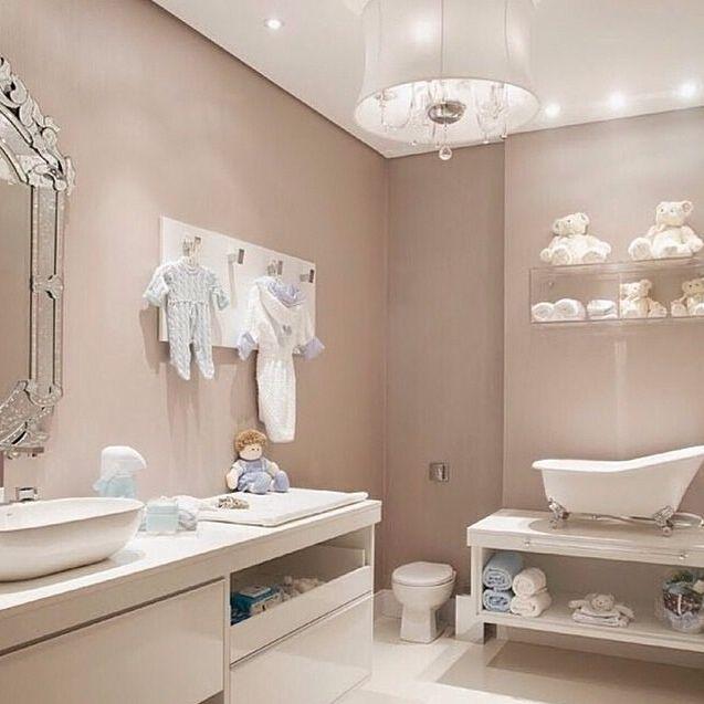 Chic Little Bathroom