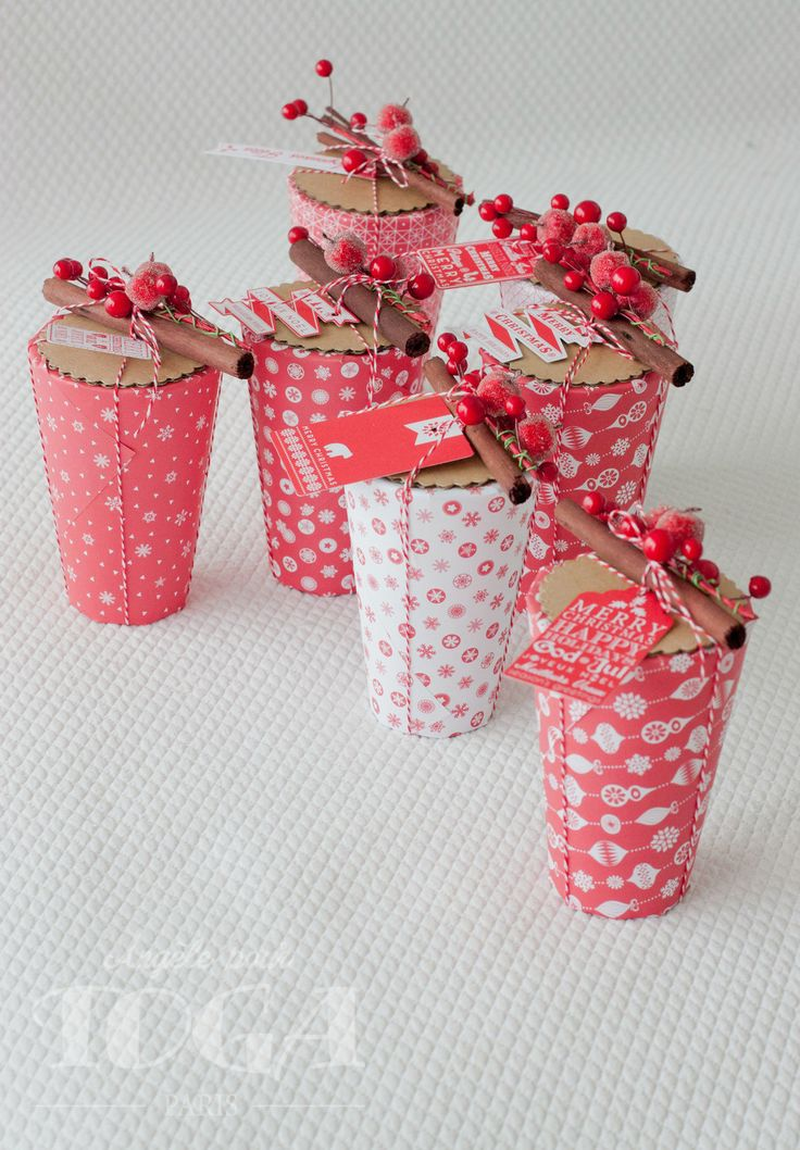 Petits cadeaux de table aux couleurs nordiques - L'atelier d'Angèle - DIY, Scrap et idées créatives