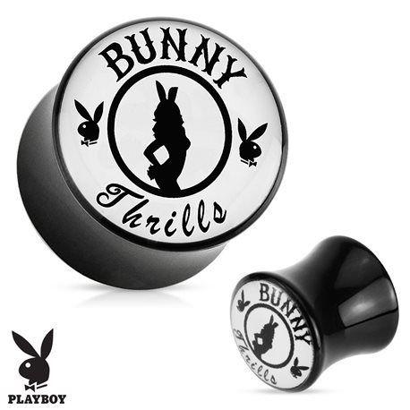 écarteur logo Playboy 10 mm sexy pin up et bunny
