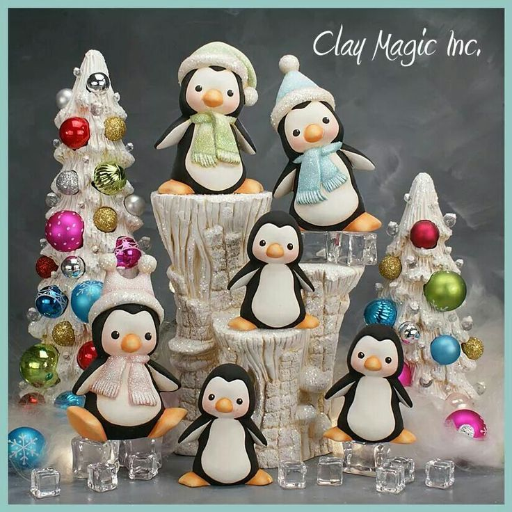Pingüinos Clay Magic Inc.