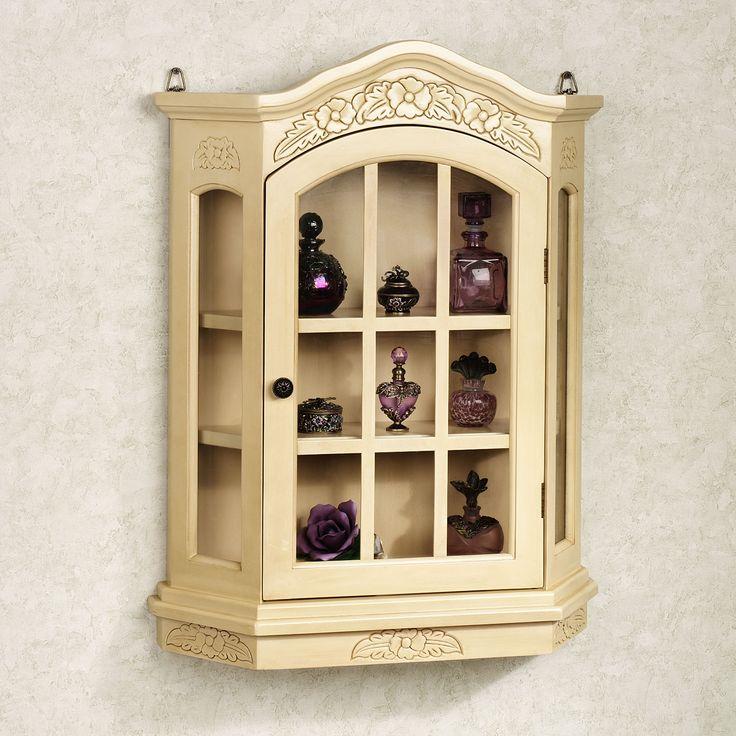 Viviana Wall Curio Cabinet a touch of class catalog