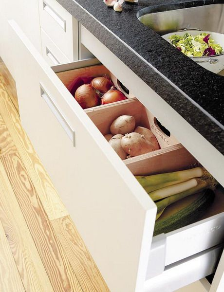 Potatoes Onions Nice Storage Bins Home Kitchen And Pantry Pinterest Drawers Kitchen