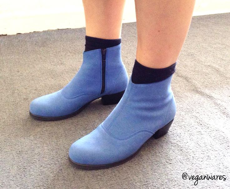 Vegan Ware made-to-order sueda boots.