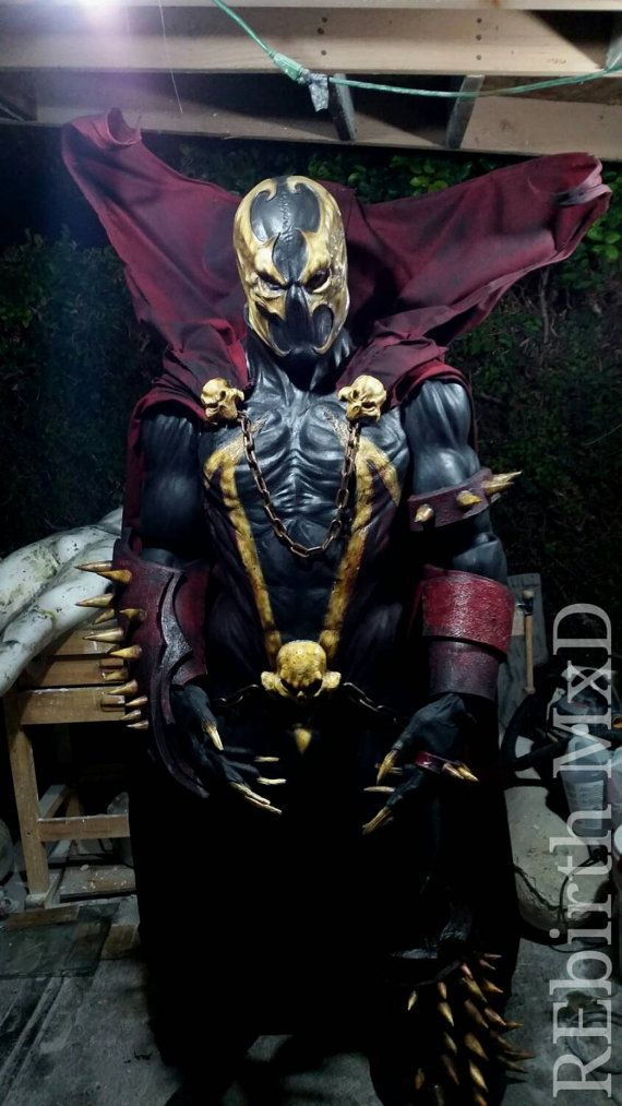 REbirth MxDs Hell Spawn costume by REbirthMxD on Etsy