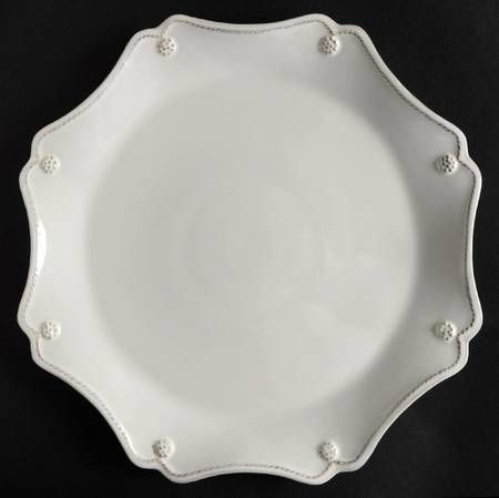 Berry and Thread Whitewash Service Plate (Charger) by Juliska at Replacements, Ltd