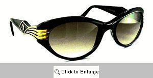 Celeste Silver Screen Sunglasses - 410 Black
